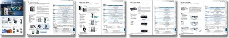 ADLINK Matrix fanless embedded computers catalog preview